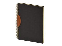 Бизнес-тетрадь Attache Selection Fiesta А4 80 листов Black 419965