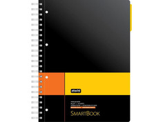 Бизнес-тетрадь Attache Selection Smartbook A4 120 листов Yellow-Orange 272651