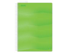 Бизнес-тетрадь Attache Waves A4 100 листов Green 272847