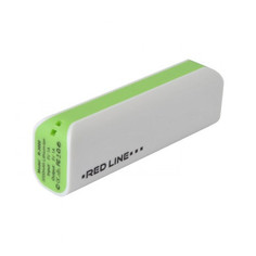 Аккумулятор Red Line R-3000 Power Bank 3000mAh Green
