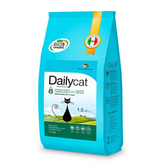 Корм Daily Cat Dailycat Adult Steri lite Chicken and Rice 1.5kg 627ДК*1,5