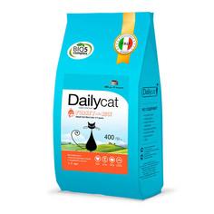 Корм Daily Cat Adult Sterli Lite Turkey & Rice 400g 608ДК*04