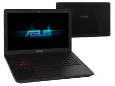 Ноутбук ASUS ROG FX553VD-E41118T XMAS Edition 90NB0DW4-M17810 (Intel Core i5-7300HQ 2.5 GHz/6144Mb/1000Gb + 128Gb SSD/No ODD/nVidia GeForce GTX 1050 2048Mb/Wi-Fi/Cam/15.6/1920x1080/Windows 10 64-bit)