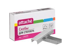 Скобы для степлера Attache №24/6 1000шт 139205