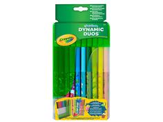 Фломастеры парные Crayola 20шт 04-6829C