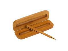 Ручка шариковая Lejoys Bamboo Black 70119