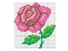Набор для творчества Десятое Королевство Набор для вышивания Роза 00317