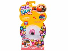 Игрушка Moose Little Live Pets Божья коровка и малыш Сердечко 28447-7