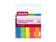 Стикеры Attache 12x45mm 100 листов 5 цветов 144630