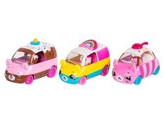 Игрушка Moose Shopkins Cutie Cars с фигурками Bumper Bakery 56644
