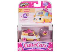 Игрушка Moose Shopkins Cutie Cars с фигуркой Wheely Wishes 56585