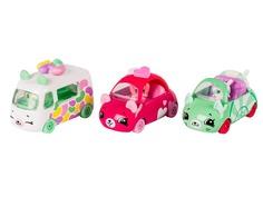Игрушка Moose Shopkins Cutie Cars с фигурками Candy Combo 56643