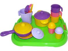 Игра ПолесьеНабор детской посуды Настенька 3957