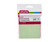 Стикеры Attache 76x76mm 100 листов Light Green 356198