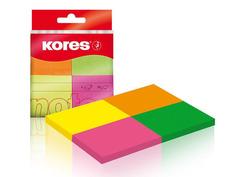 Стикеры Kores 40x50mm 200 листов 4 цвета 56386