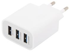 Зарядное устройство Liberty Project 3xUSB 3.1А 0L-00000676 White