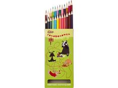 Карандаши цветные №1 School Головоломка 24 цвета 656551