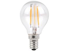 Лампочка Sparkled Filament G45 E14 4W 200-240V PF0.8 2700K LLF45-4E-27