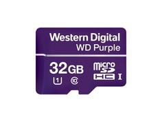 Карта памяти 32Gb - Western Digital Purple microSDHC Class 10 UHS U1 WDD032G1P0A