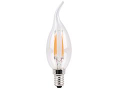 Лампочка Sparkled Filament CA35 E14 4W 200-240V PF0.8 6500K LLF35-4E-65-T
