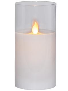 Светодиодная свеча Star Trading LED M-Twinkle White 063-16