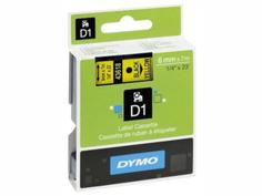 Картридж DYMO D1 6mm-7m для принтеров этикеток S0720770
