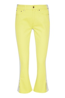 Ярко-желтые джинсы Msgm