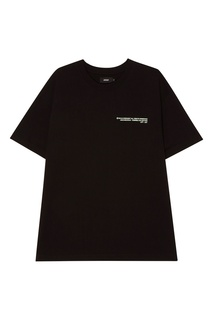 Черная хлопковая футболка 51 Percent