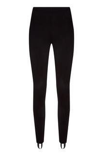 Черные брюки со штрипками Balenciaga