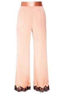 Розовые шелковые брюки Amelea Agent Provocateur