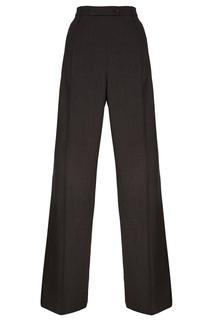 Серые прямые брюки Prada