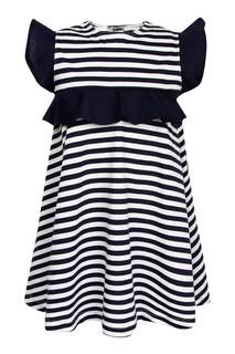 Платье в контрастную полоску Il Gufo