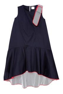 Хлопковое платье с бантом The Dress