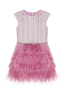 Фиолетовое платье с перьями Charmine Balloon and Butterfly