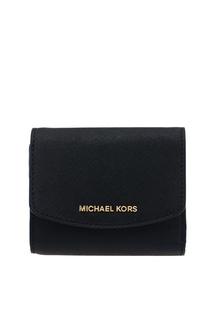 Кожаный кошелек с клапаном Money Pieces Michael Kors