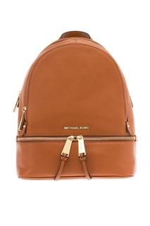 Коричневый рюкзак Rhea Zip Michael Kors