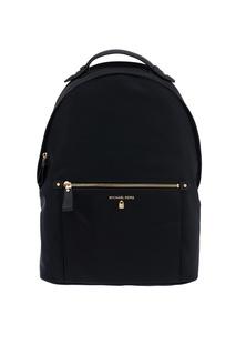 Черный кожаный рюкзак Nylon Kelsey Michael Kors