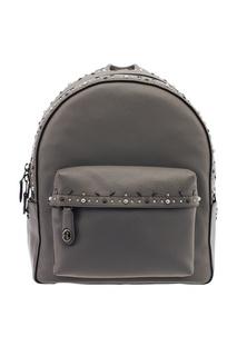 Серый рюкзак с заклепками Campus Coach