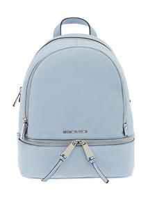 Бледно-голубой рюкзак Rhea Zip Michael Kors