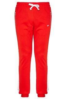 Красные спортивные брюки N.D.G. Studio