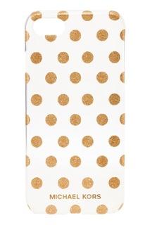 Чехол с золотистыми точками для iPhone 7/8 Michael Kors