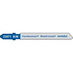 Пилки по стали и цветным металлам t118af (57х1.2 мм, bim, 5 шт.) metabo 623971000