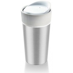 Термокружка asobu thermo steel 0.4 л, стальная cs14 metallic-silver