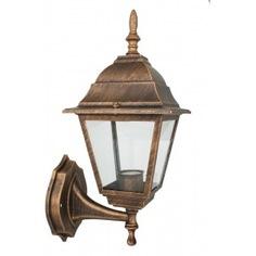 Улично-садовый светильник camelion 4201 с28 бронза 230в 60вт 12258