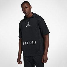 Мужская баскетбольная худи с коротким рукавом Air Jordan Nike