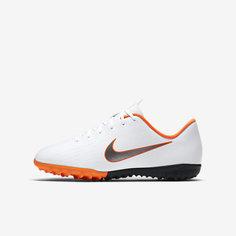 Футбольные бутсы для игры на газоне для дошкольников школьников Nike Jr. MercurialX  Vapor XII 719c448d4c6