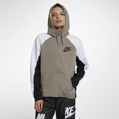 Женская худи с молнией на половину длины Nike Sportswear