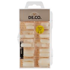 Набор накладных ногтей DE.CO. BASE мягкий квадрат 100 шт Deco
