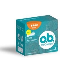 ТАМПОНЫ O.B Pro Comfort супер 8шт. К48 O.B.