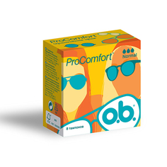 ТАМПОНЫ O.B Pro Comfort нормал 8шт. К48 O.B.